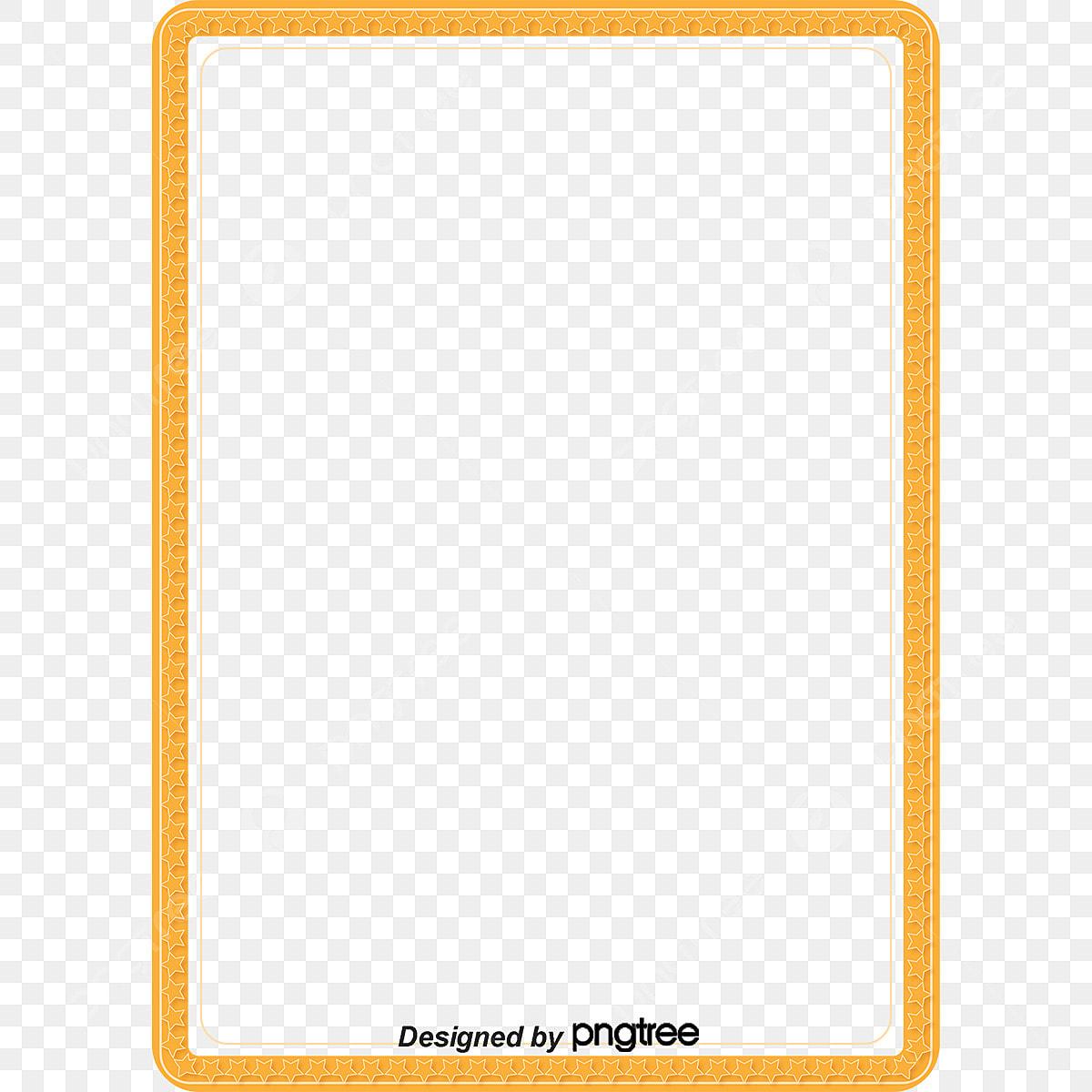 إطار أصفر مربع النص فريم فريم Png وملف Psd للتحميل مجانا