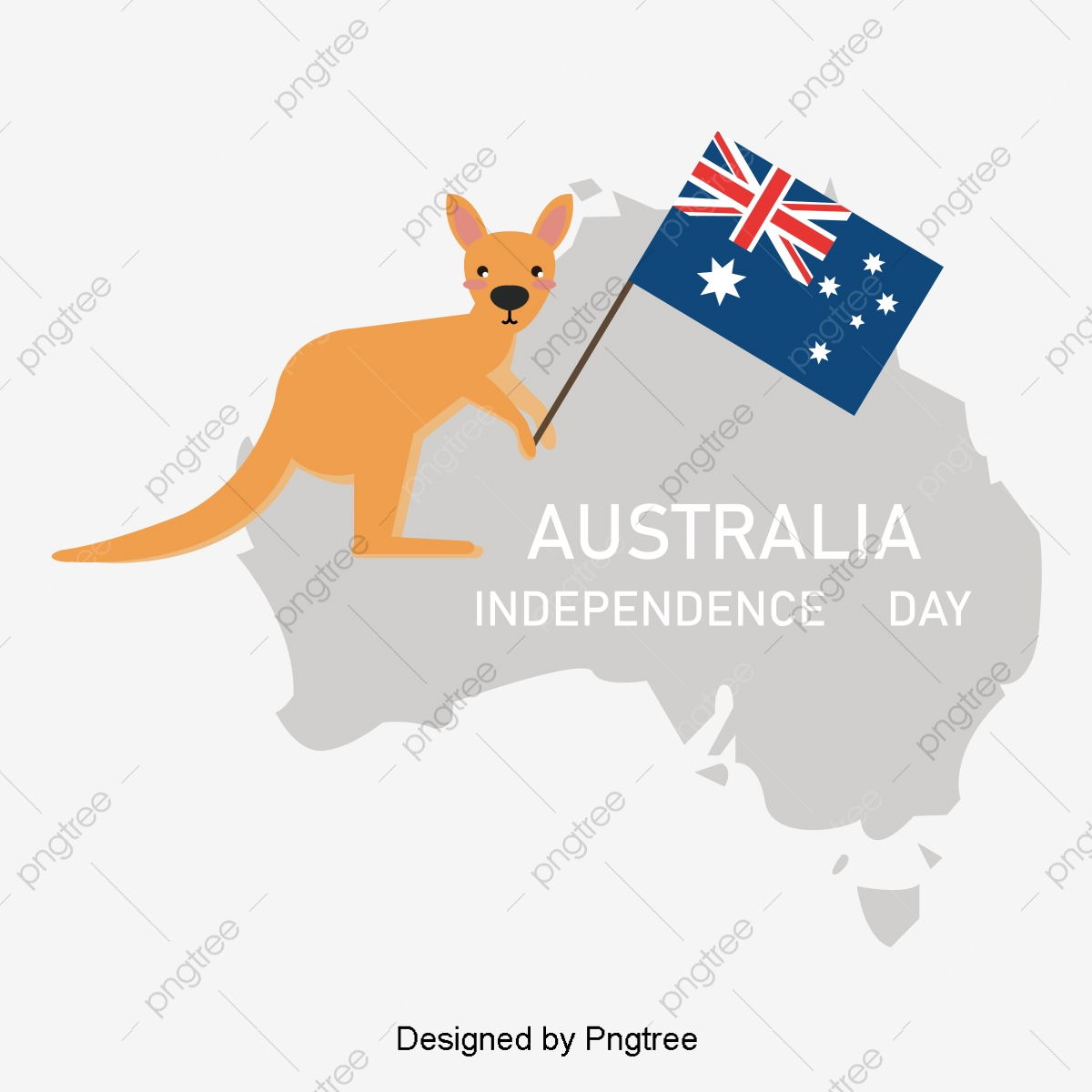Australia Map Vector.Yellow Map Of Australia And Australia Creative Map Vector