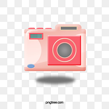 pink stereo intelligent camera, Lovely, Projection, Shot PNG and PSD
