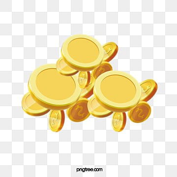 texture piles of floating gold coins, Gloss, Creative, Float PNG and PSD
