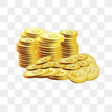 texture piles of gold coins of business and financial wealth, Business Affairs, Investment And Financing, Dollar PNG and PSD