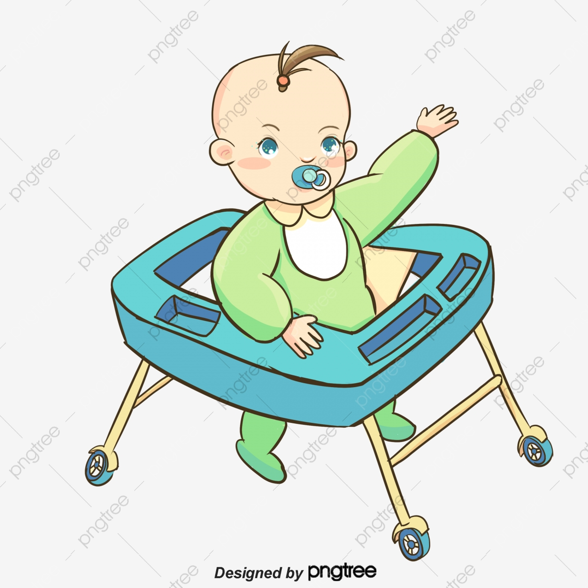 Blue Cartoon Baby Boy Cartoon Clipart Baby Clipart Boy Clipart Png Transparent Clipart Image And Psd File For Free Download