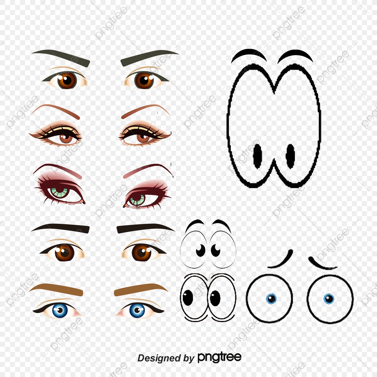 Cartoon Eyes Children Eye Child Eyes Eye Png Transparent
