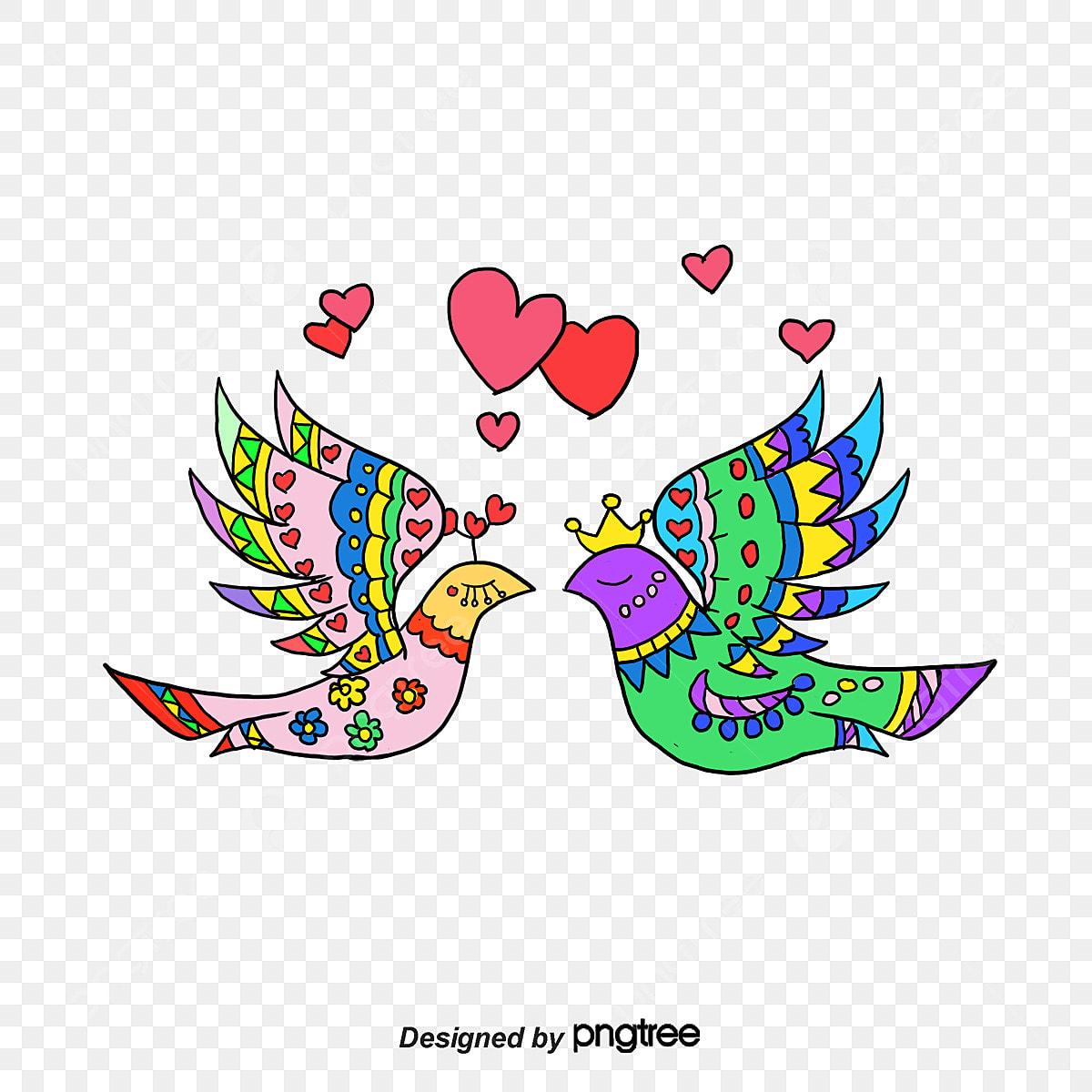 Desenhos Desenho De Passarinhos Animal Animais Pintados à