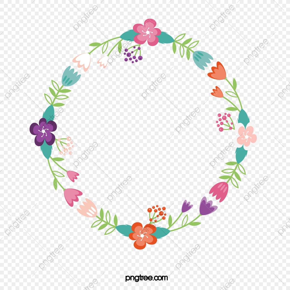 Desenhos De Flor Romantica Vector Png Flores Coloridas A Cor