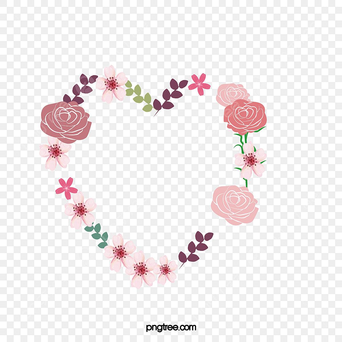 Dessin De Rose Damour Lamour Fleur De Vigne Couronne