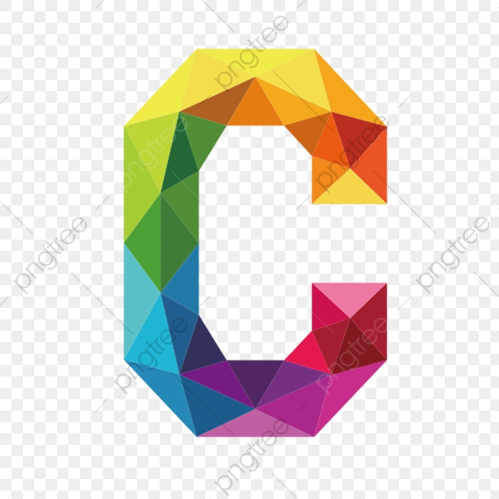 Colorful Letters C, Letter, C, Colorful PNG and Vector with Transparent  Background for Free Download