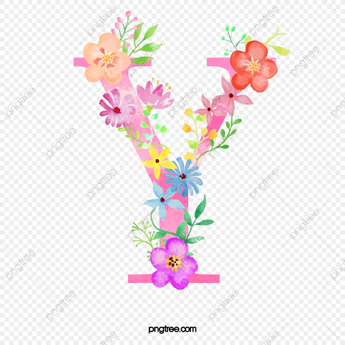 Flowers Letter Y Letter Flower Y Png Transparent Clipart Image And Psd File For Free Download