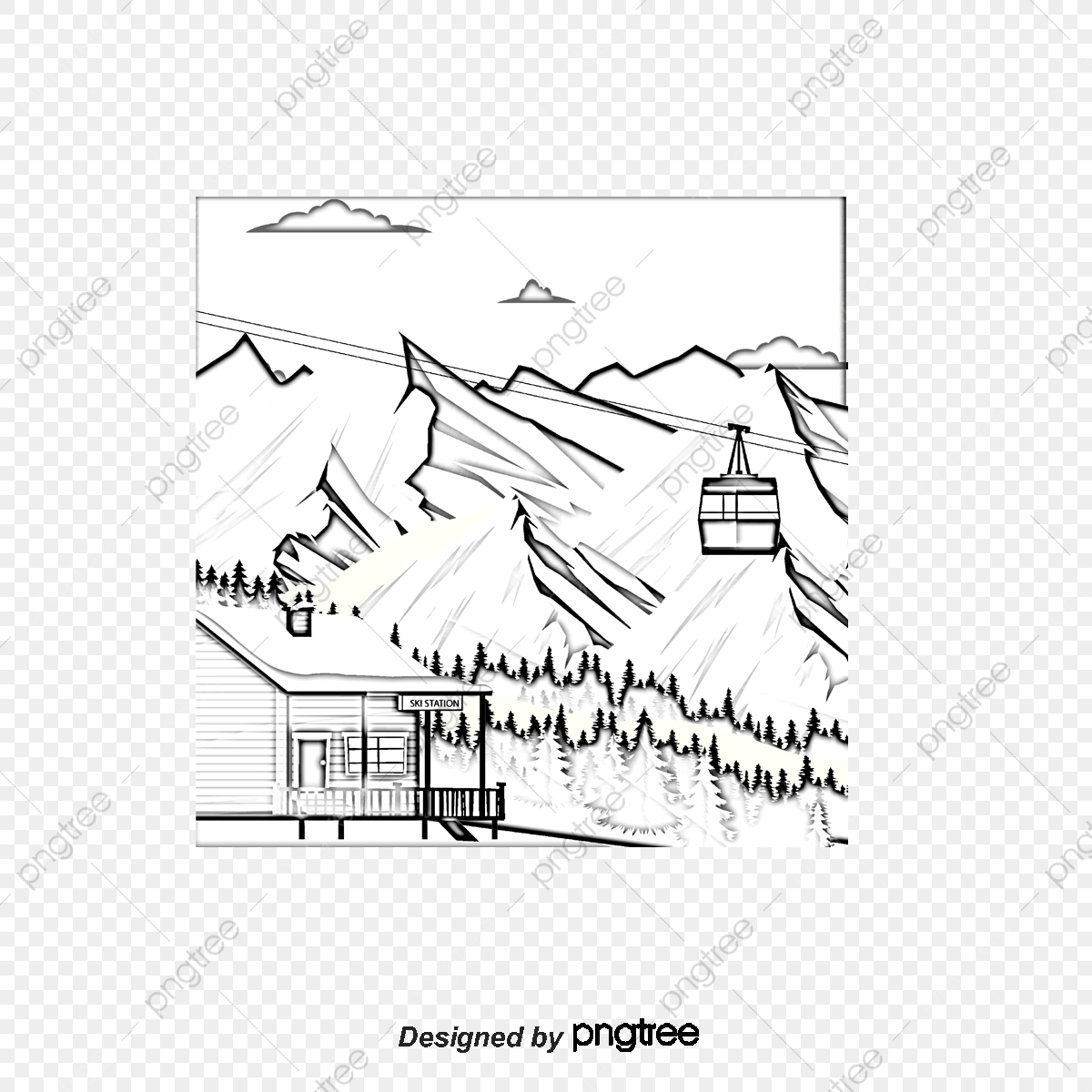 commercial use resource  upgrade to premium plan and get license  authorization upgradenow · hand painted plateau snow mountain