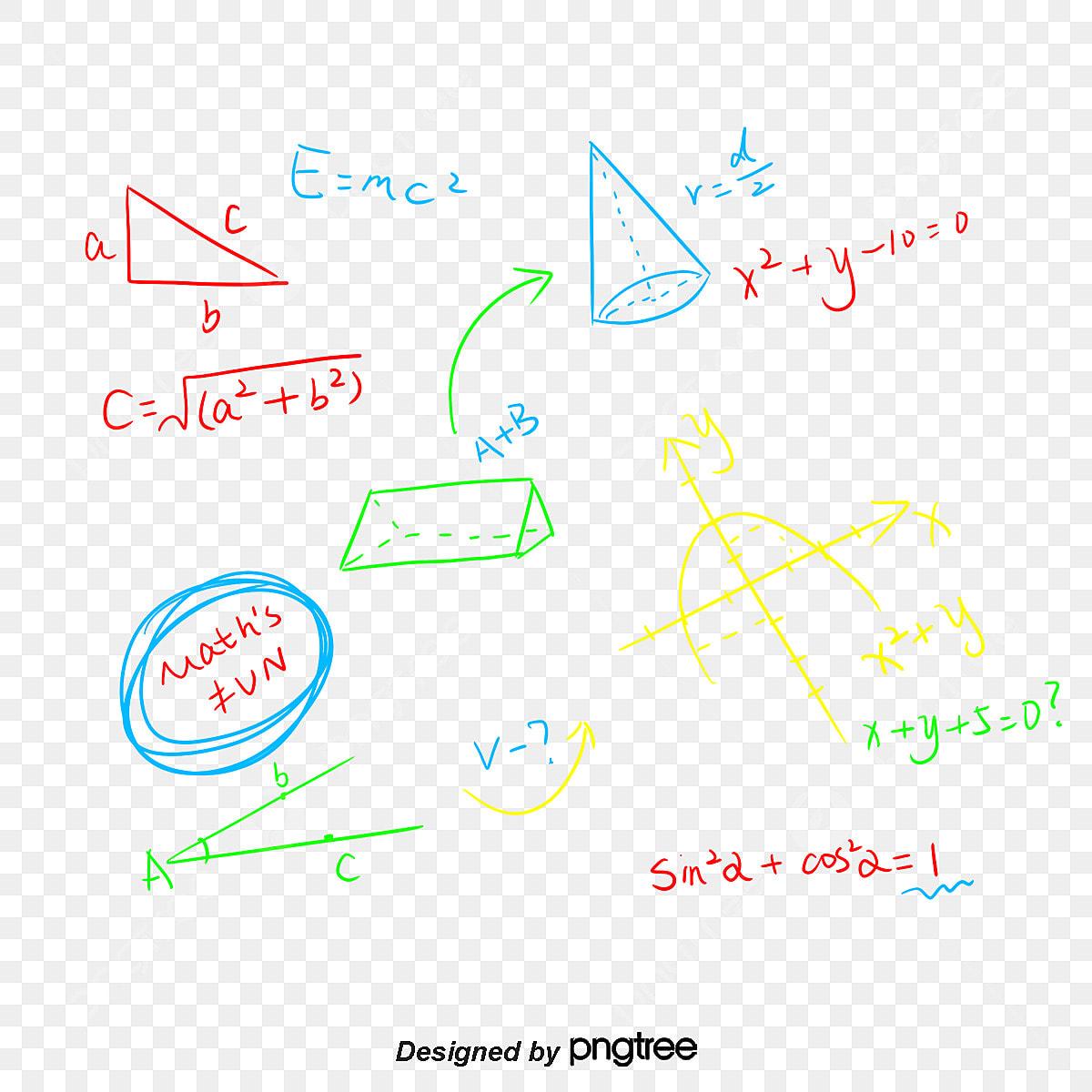 手書きの数式 ベクトルpng 数学クラス 数式画像とpsd素材ファイルの無料ダウンロード Pngtree