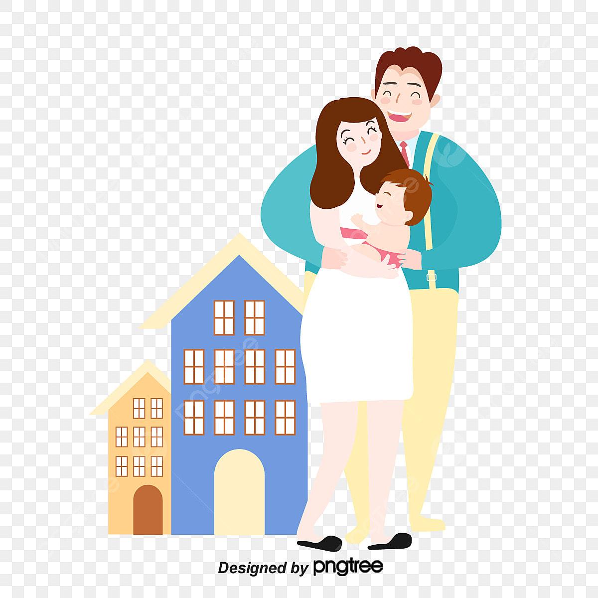 Gambar Harmony Masyarakat Harmoni Keluarga Keluarga Kartun Keluarga Masyarakat Png Dan Vektor Untuk Muat Turun Percuma