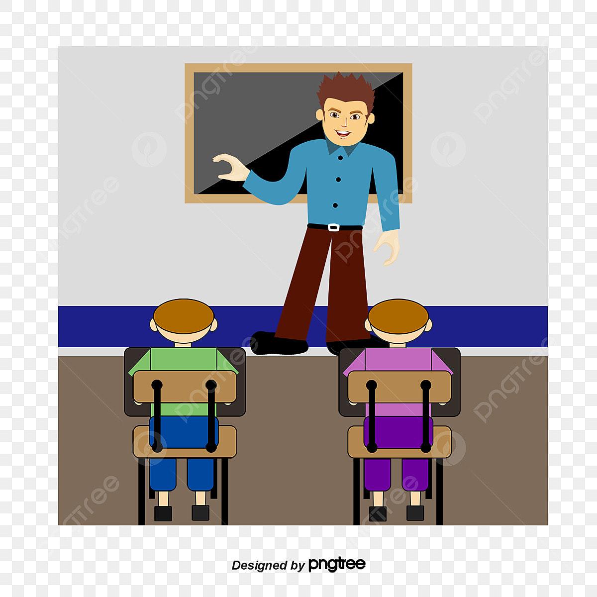 le cours de maths le professeur de dessin anim u00e9 professeur