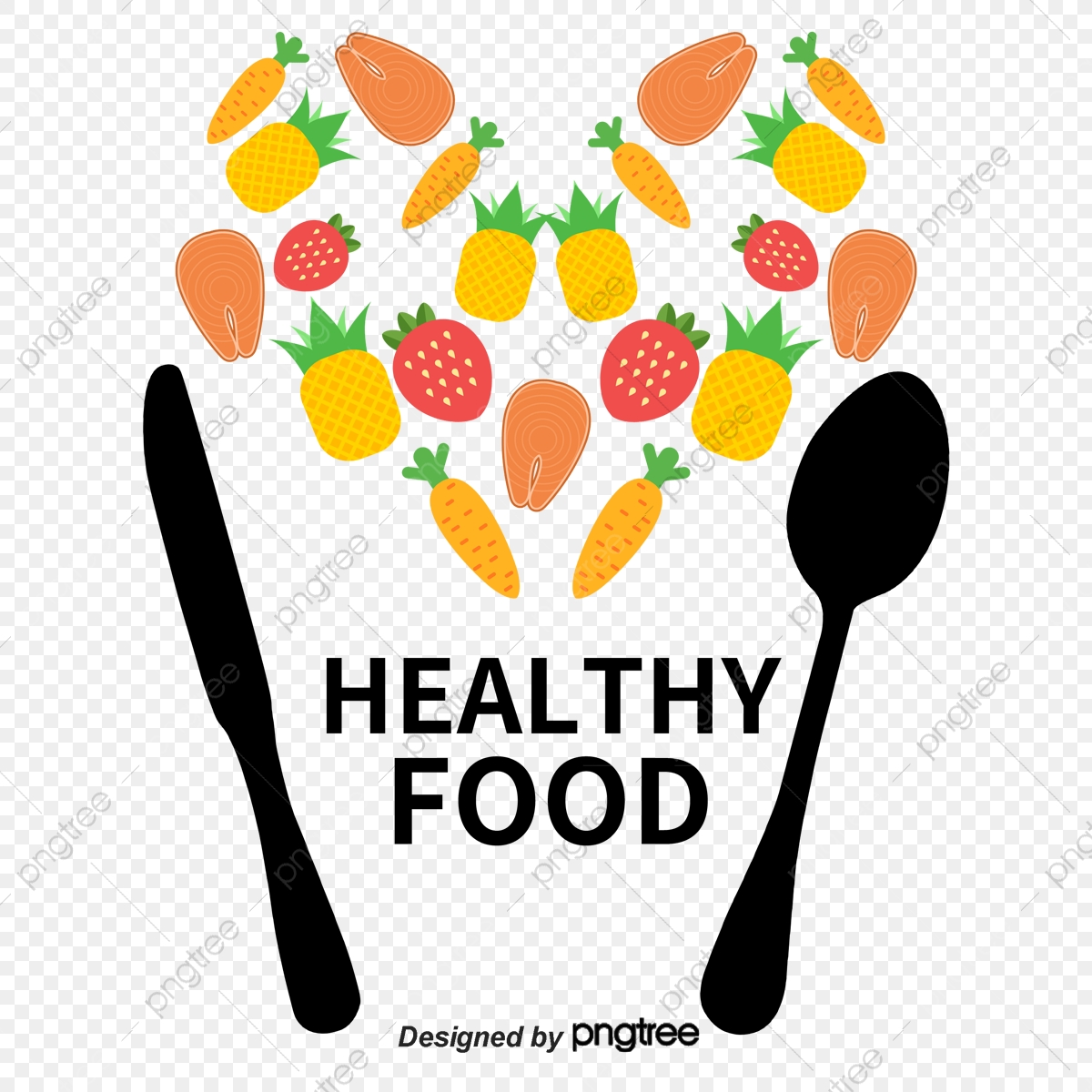 Healthy Food Food Vector Nutritious Vegetables Fork Png Transparent Clipart Image And Psd File For Free Download