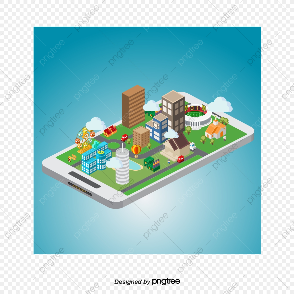 Mobile App City Map, Location Map, Route Query, Map App PNG and