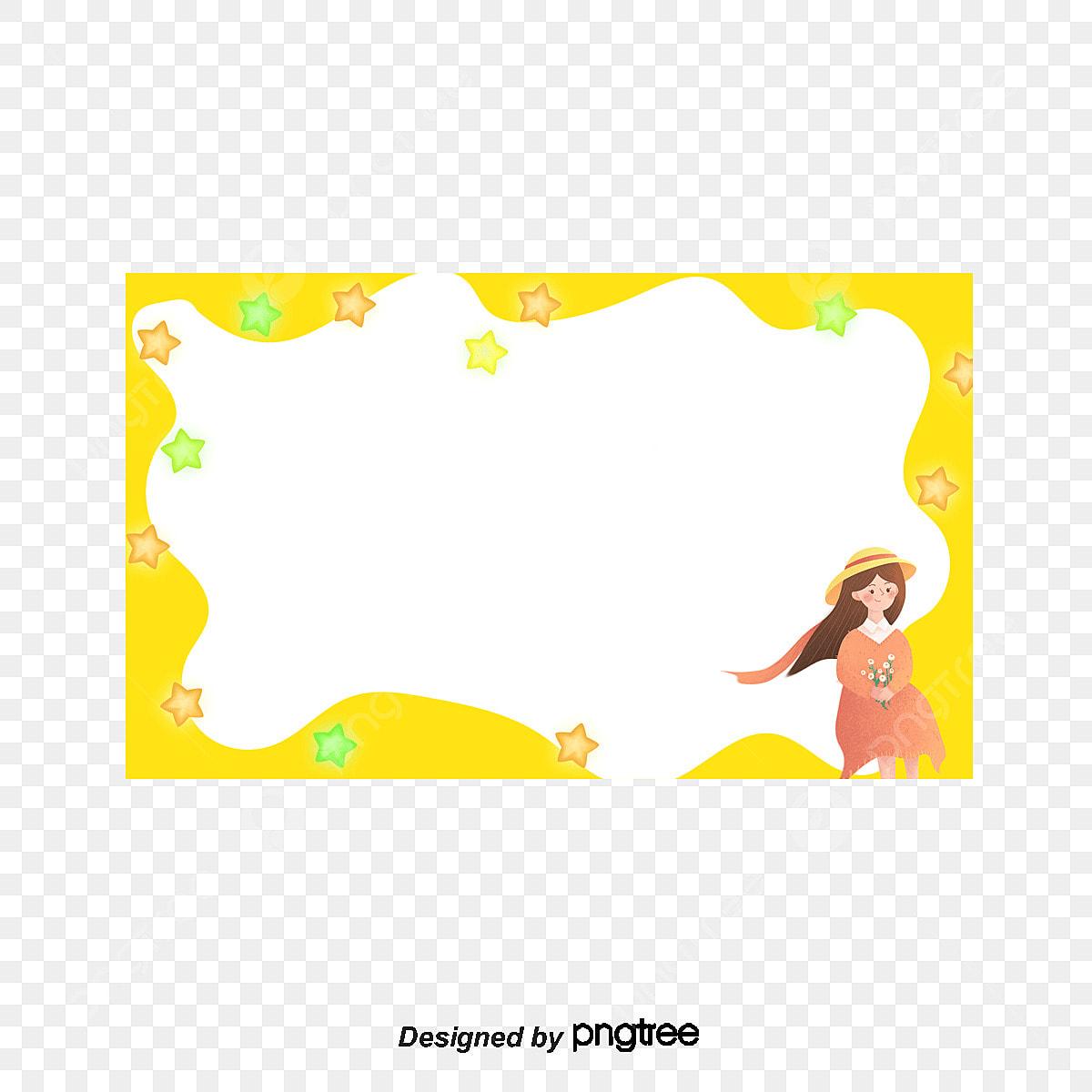 Outline Frame, Frame Clipart, Frame Border, Profile Border