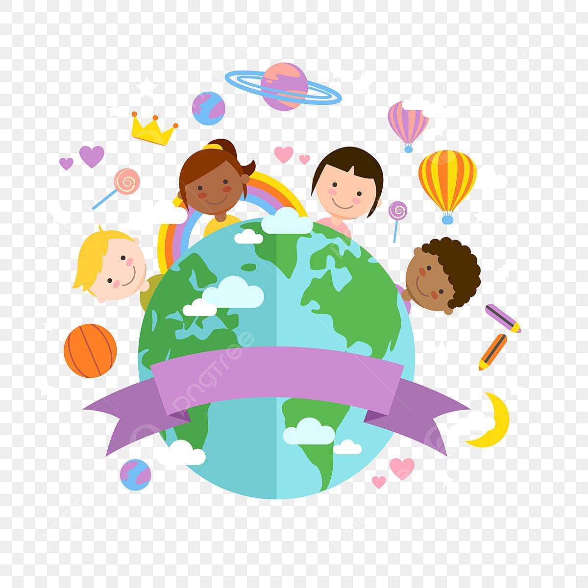 세계 각국이 평화를 친선, 국제 협력, 다른 인종, 오각별무료