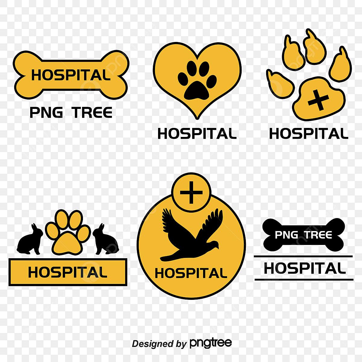 Toko Hewan Peliharaan Rumah Logo Cakar Kucing Kucing Palm