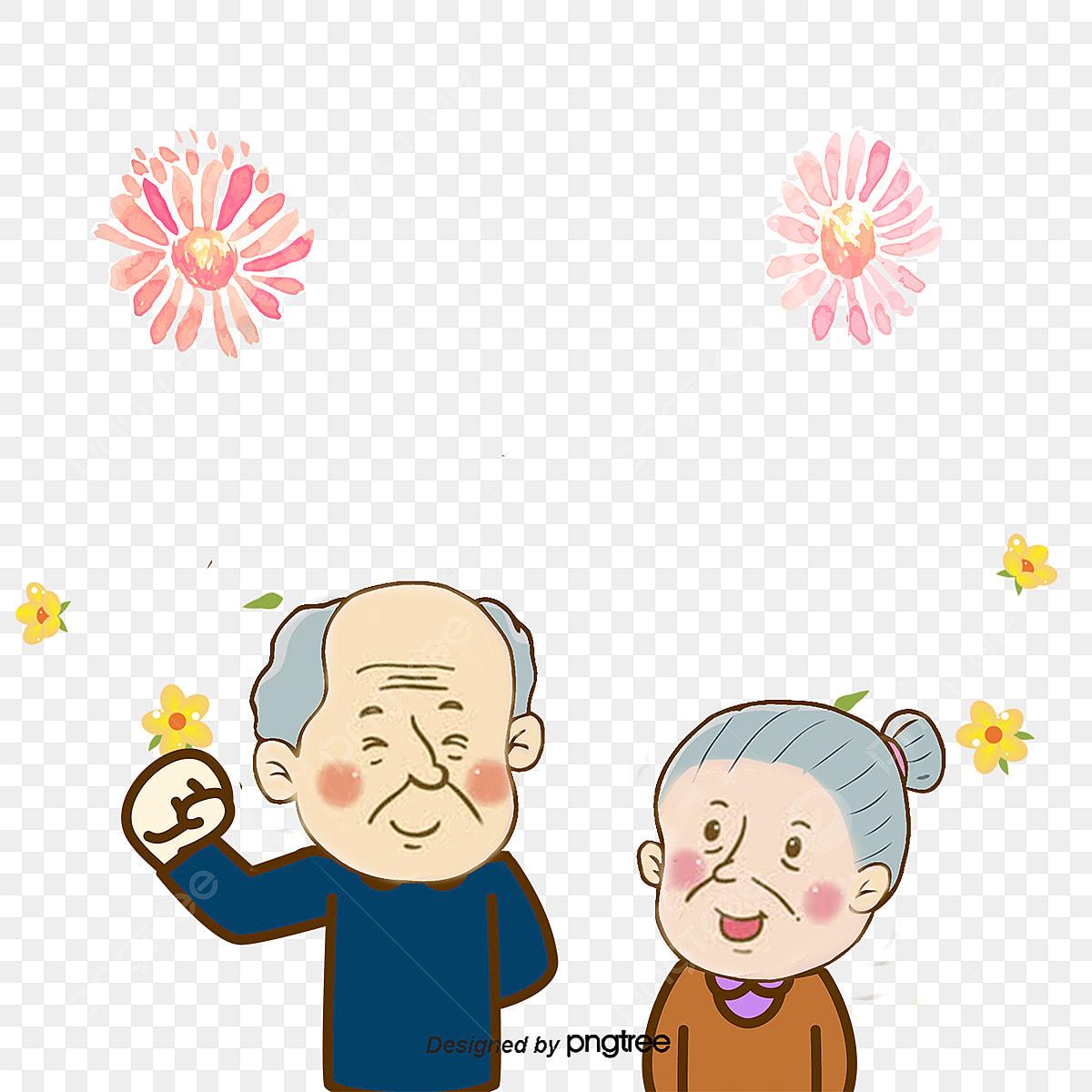 Romantische Blümchen Schmücken Hochzeitstag Vector Png