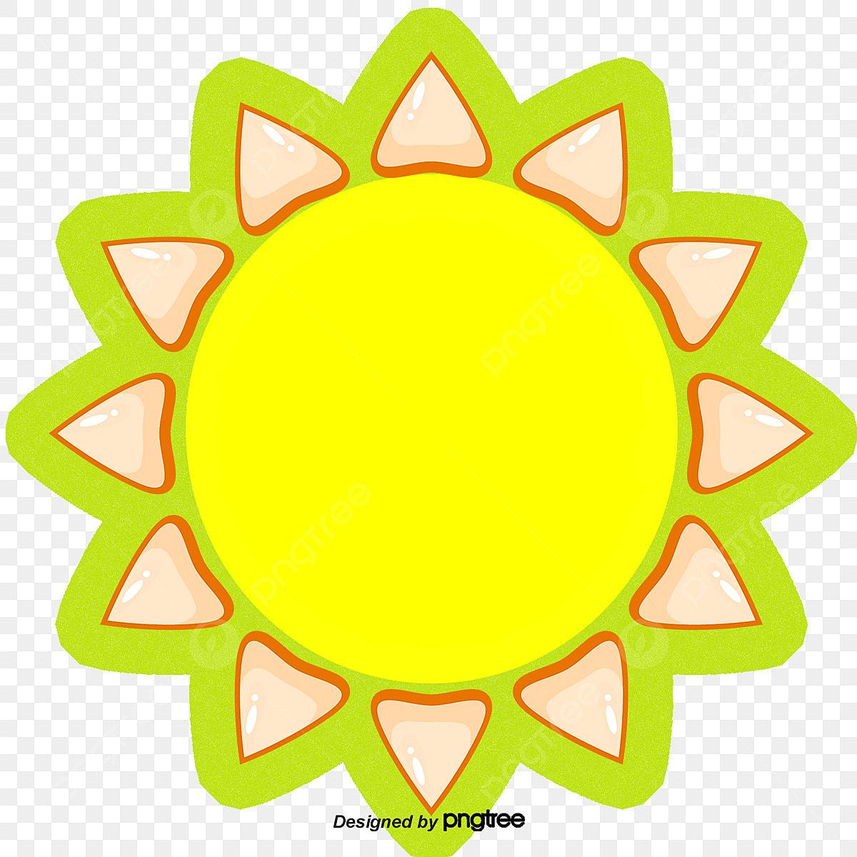 Matahari Kartun Cahaya Kartun Matahari PNG Dan Vektor