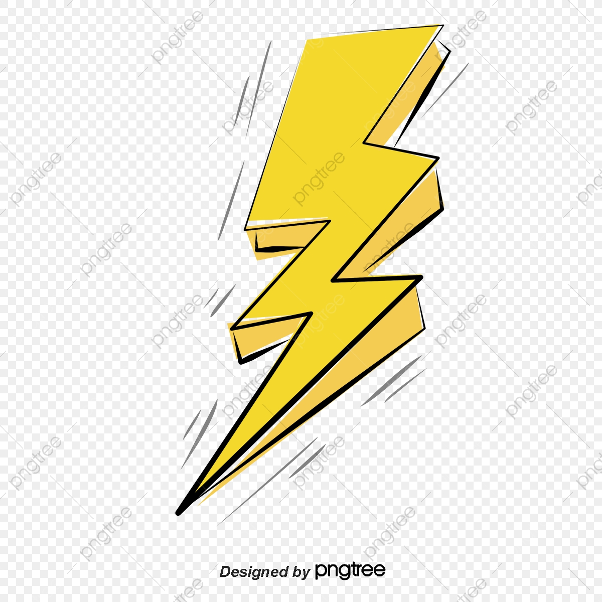 thunder and lightning effect vector png yellow lightning hand painted lightning png transparent clipart image and psd file for free download https pngtree com freepng thunder and lightning effect 3279599 html