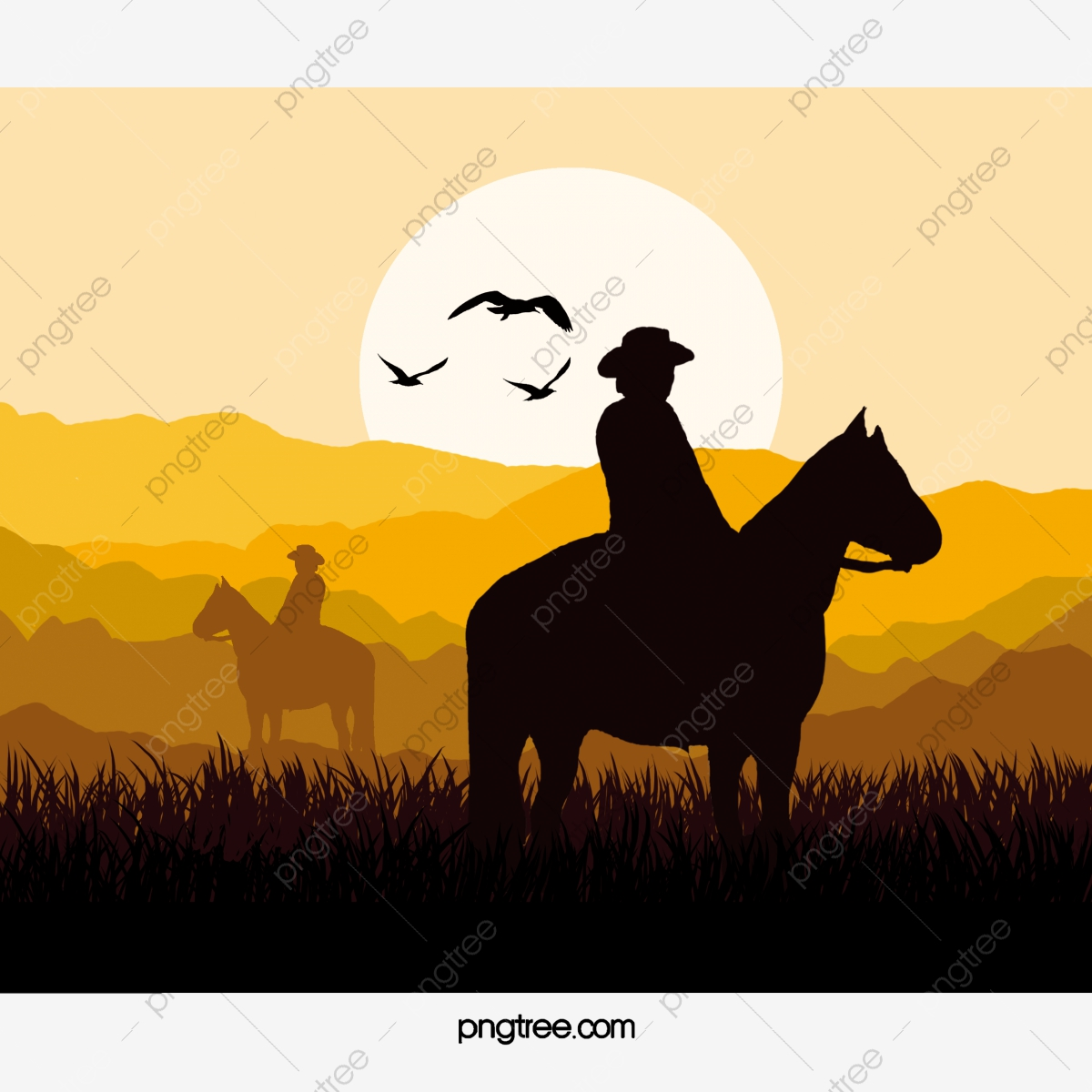 A wild west background Royalty Free Vector Image