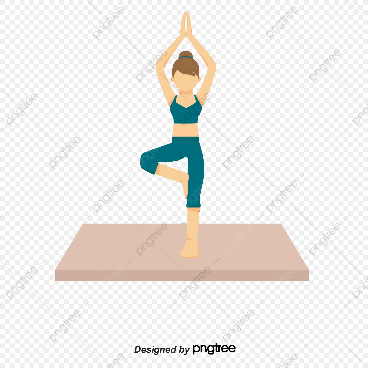 Yoga People People Clipart Woman Cartoon Png Transparent Clipart Image And Psd File For Free Download