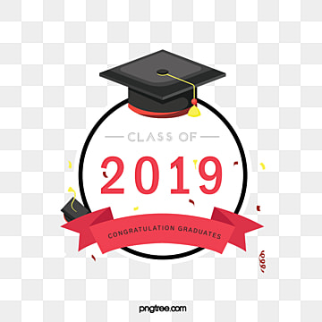 creative elements of round graduation cap 2019, 2019, Circular, Bachelor Cap PNG and Vector