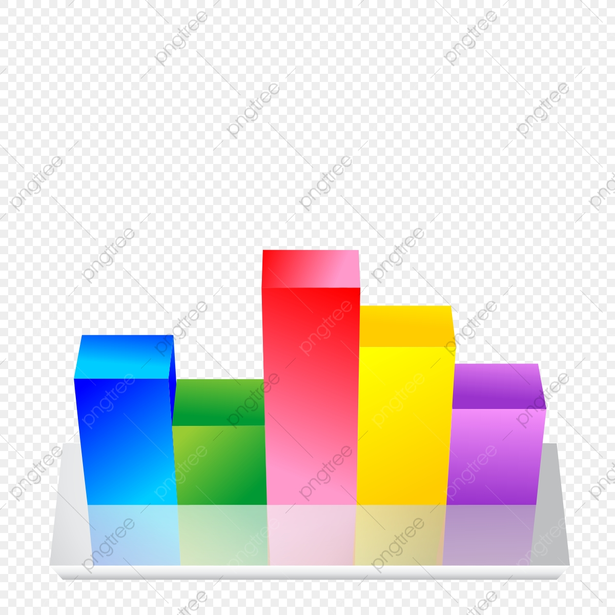 3d bar chart graph bar chart graph 3d png transparent for Grafica 3d gratis