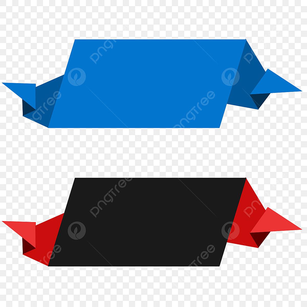 3d Modern Text Box Tag Banner Vector Ribbon, Png, Text Box