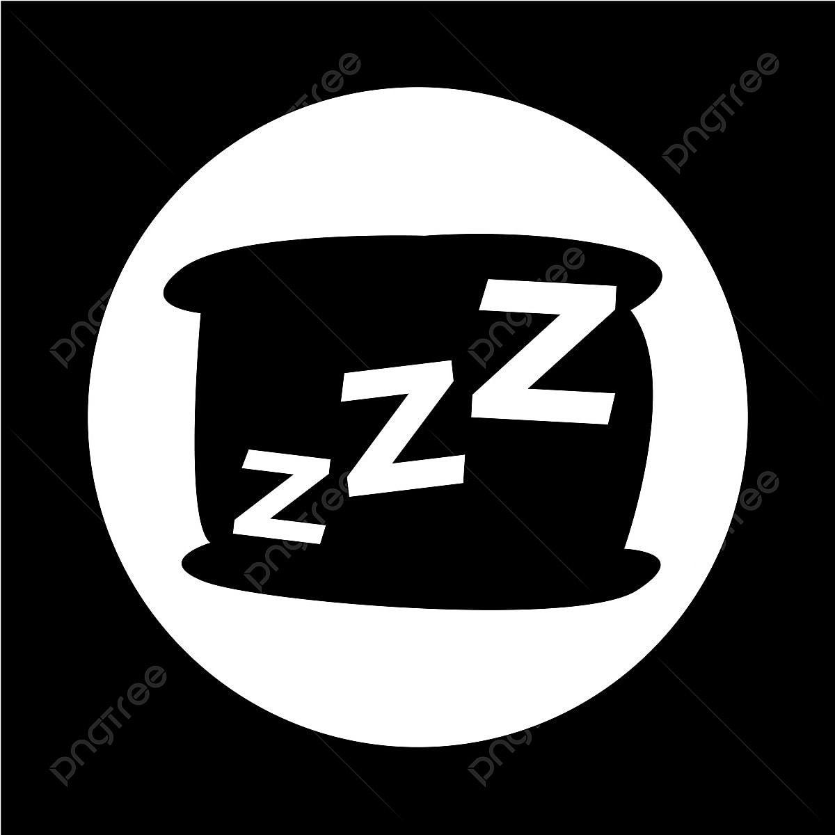 une ic u00f4ne avec un oreiller de couchage dormir ic u00f4ne vector