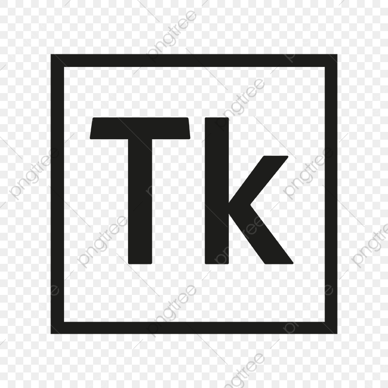 Adobe Typekit Icon Logo, Logo Vector, Tk, Black Square PNG and