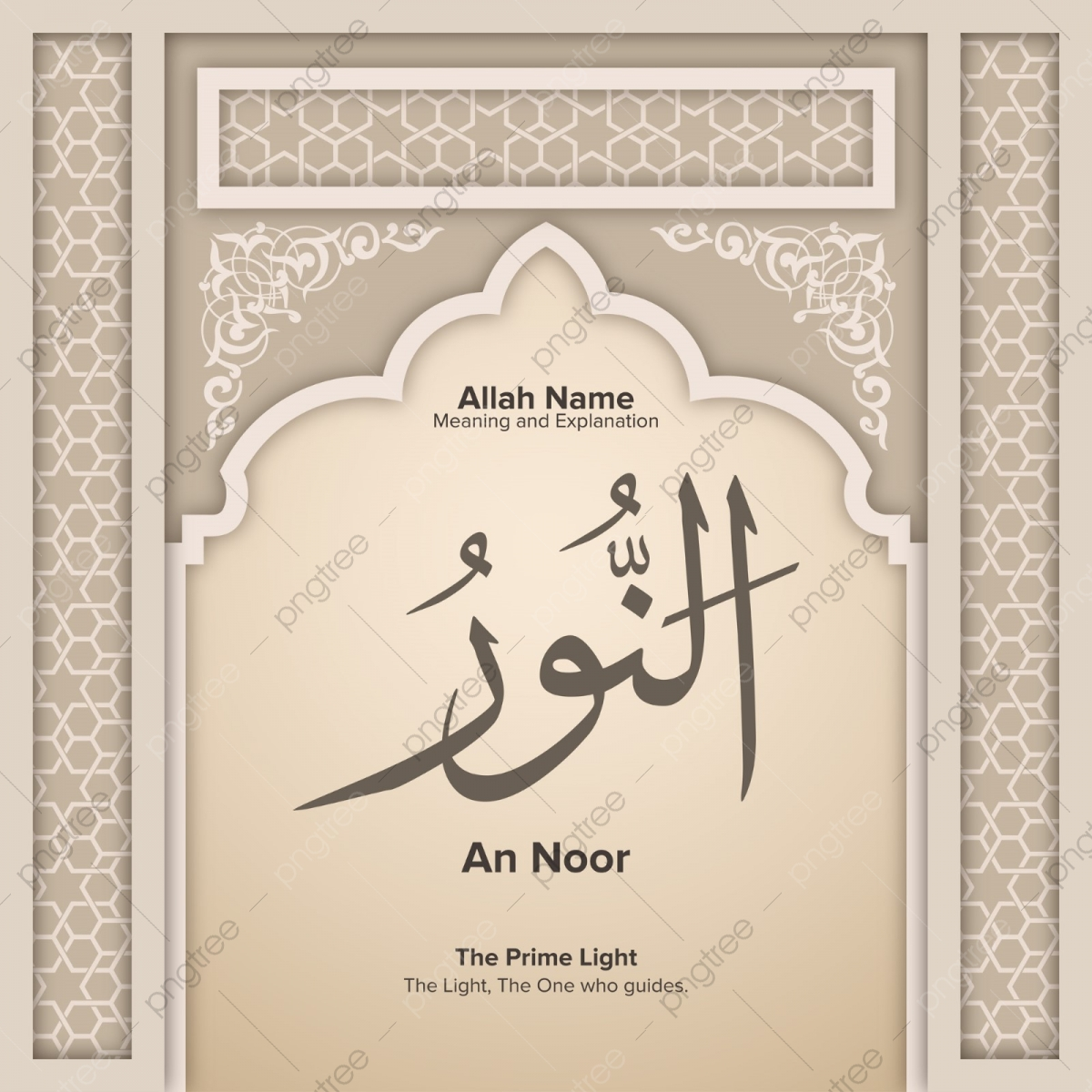 An Noor 99 Names Of Allah With Meaning And Explanation, Al