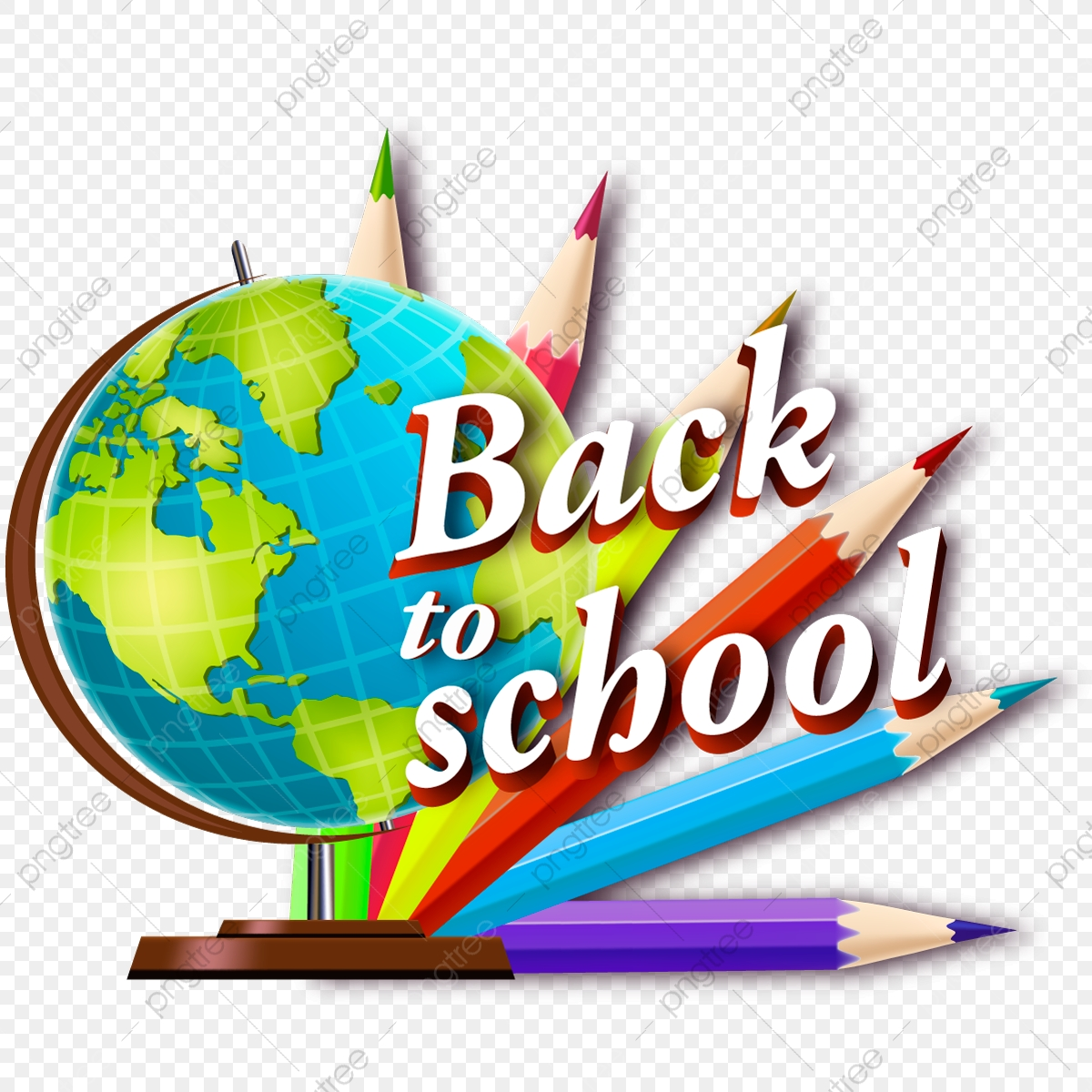 Back To School School Globe Png And Vector With Transparent Background For Free Download