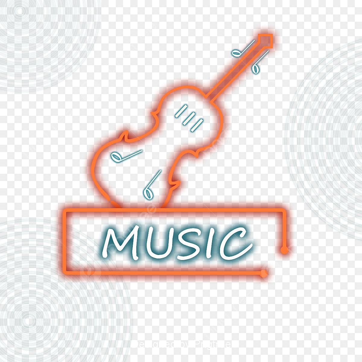Lindo Desenho Lindo Instrumento Musical Simbolo Da Musica