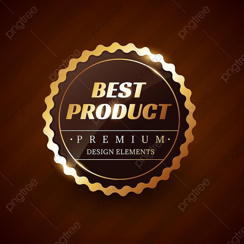a6e88998bd Melhor Produto Premium Vector Label Design Ouro Ouro Prêmio PNG e ...