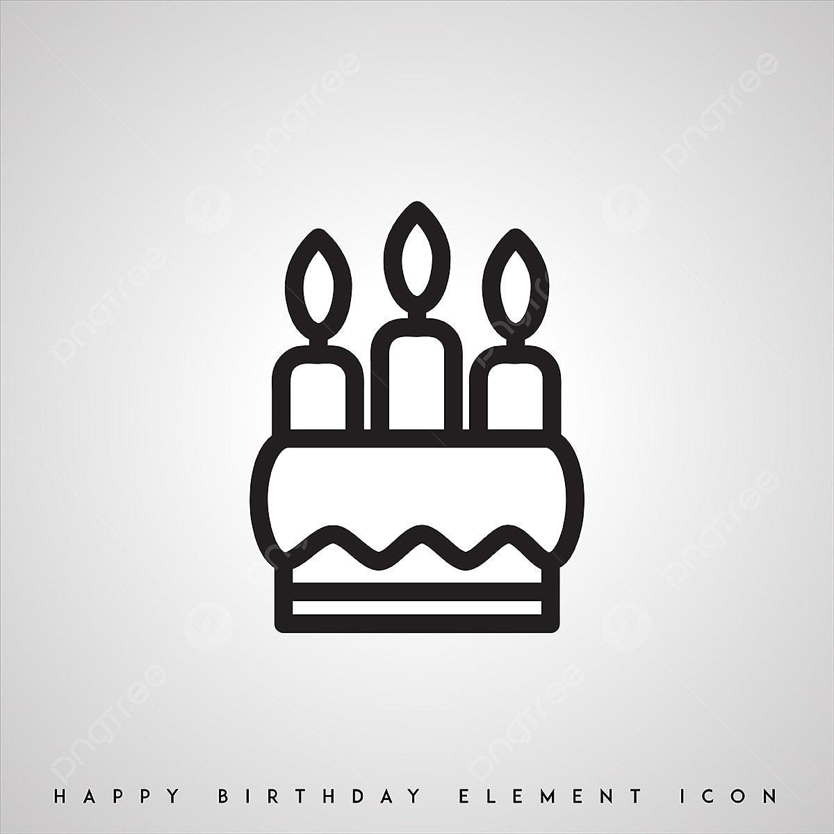 l anniversaire de noir et blanc ic u00f4nes ic u00f4ne anniversaire