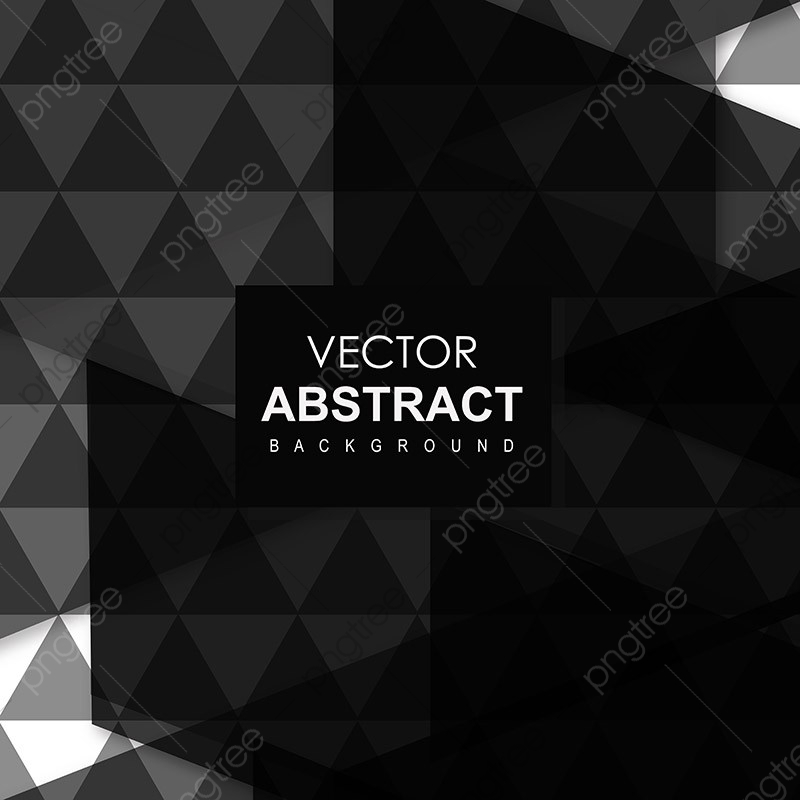 Black Vector Abstract Background Background Dark Grey Png