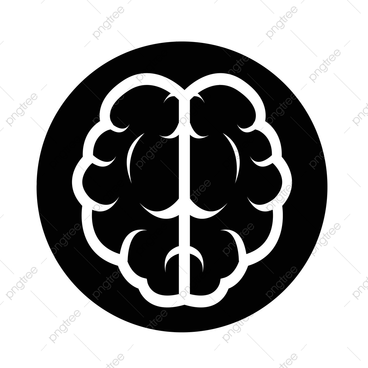Brain Icon, Brain, Icon, Mind PNG and Vector with