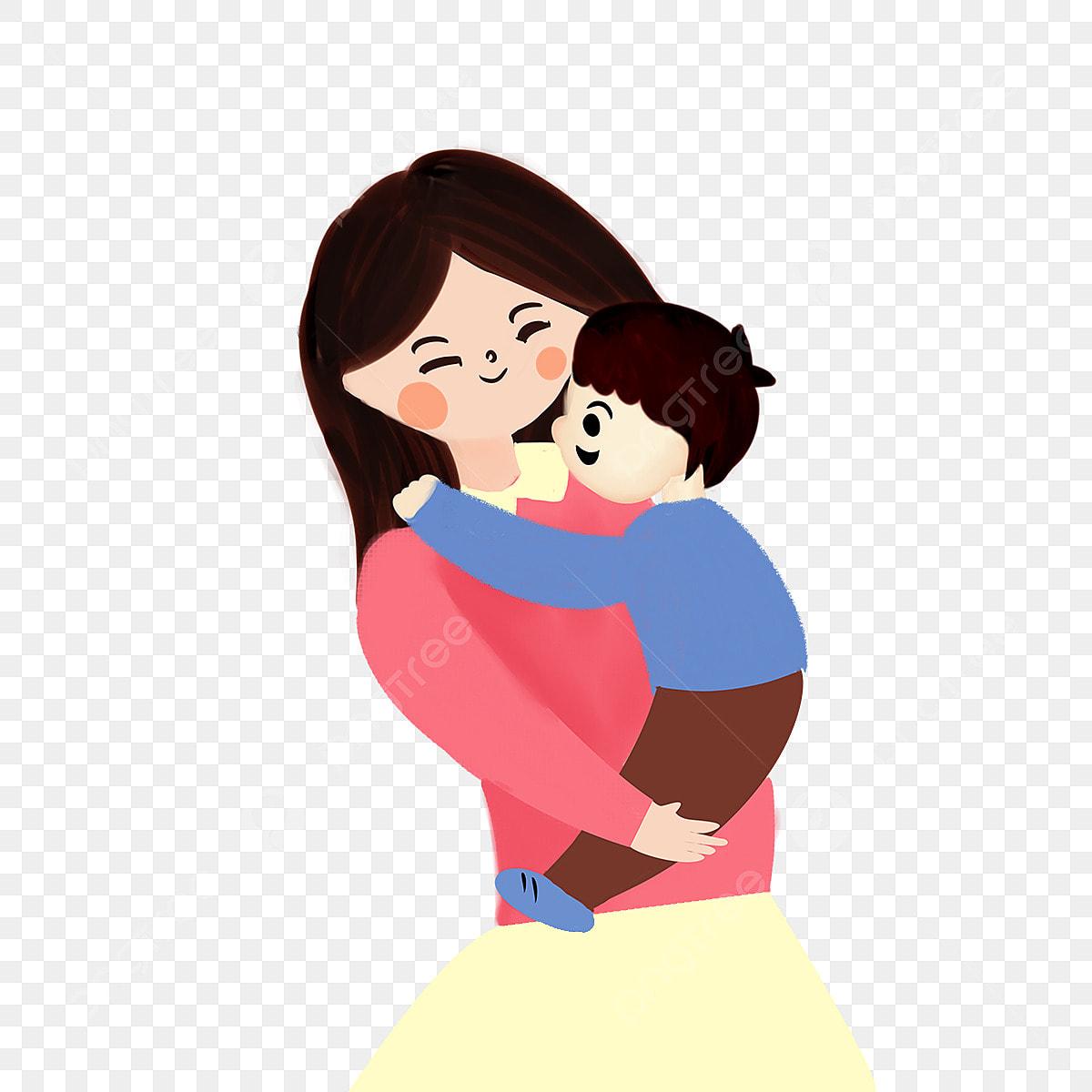 Gambar Kartun Warna Tangan Dicat Bayi Ibu Bapa Bahan Kreatif Kartun Warna Tangan Dicat Png Dan Psd Untuk Muat Turun Percuma