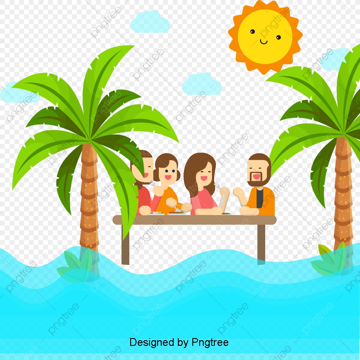 Cartoon Simple Family Travel Design Family Clipart Family Romance Png Transparent Clipart Image And Psd File For Free Download