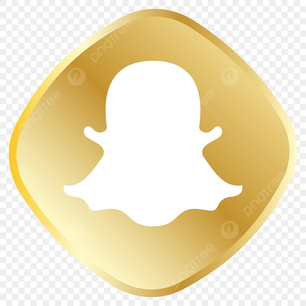 Snapchat pink gold. Golden icon royal set
