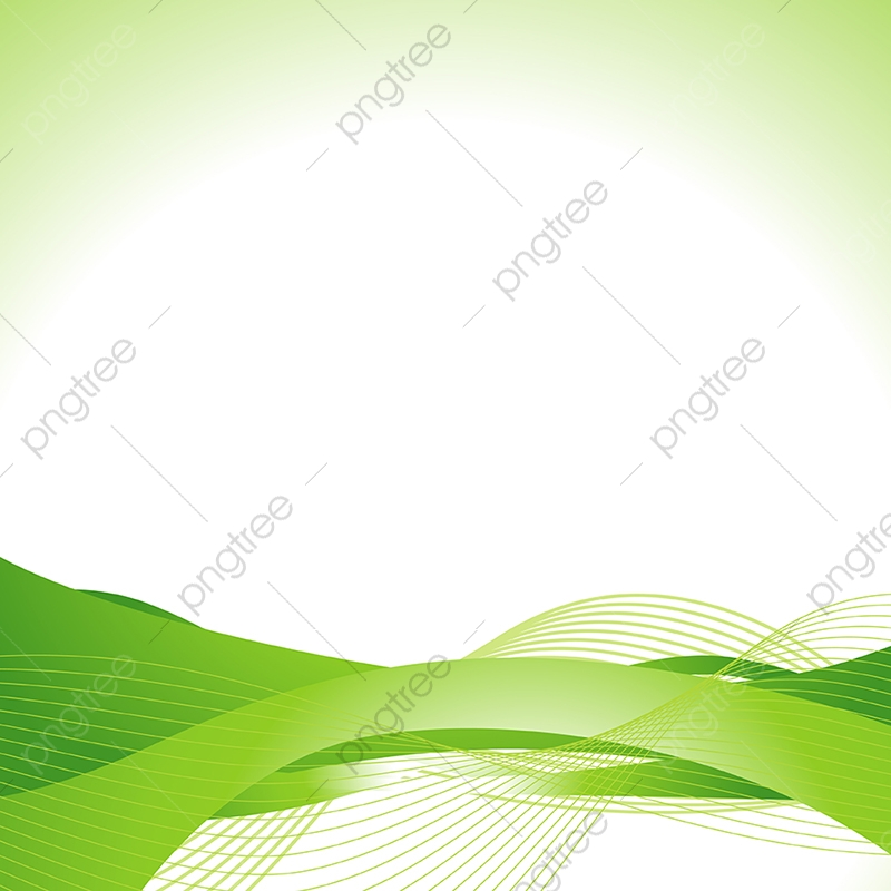 Green Abstract Wave Abstract Advertising Artistic Png And