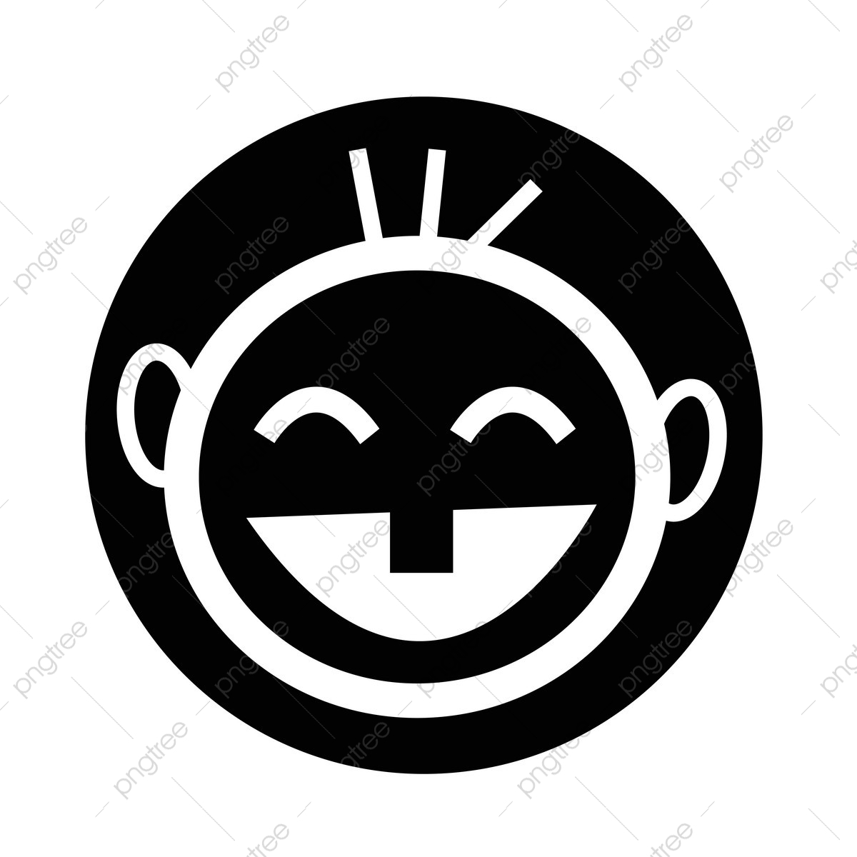 Happy Kid Icon Face Smile Icon Png And Vector With Transparent