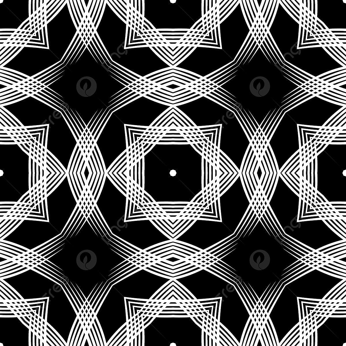 Illusion En Noir Et Blanc De Larchitecture Symétrie Vecteur