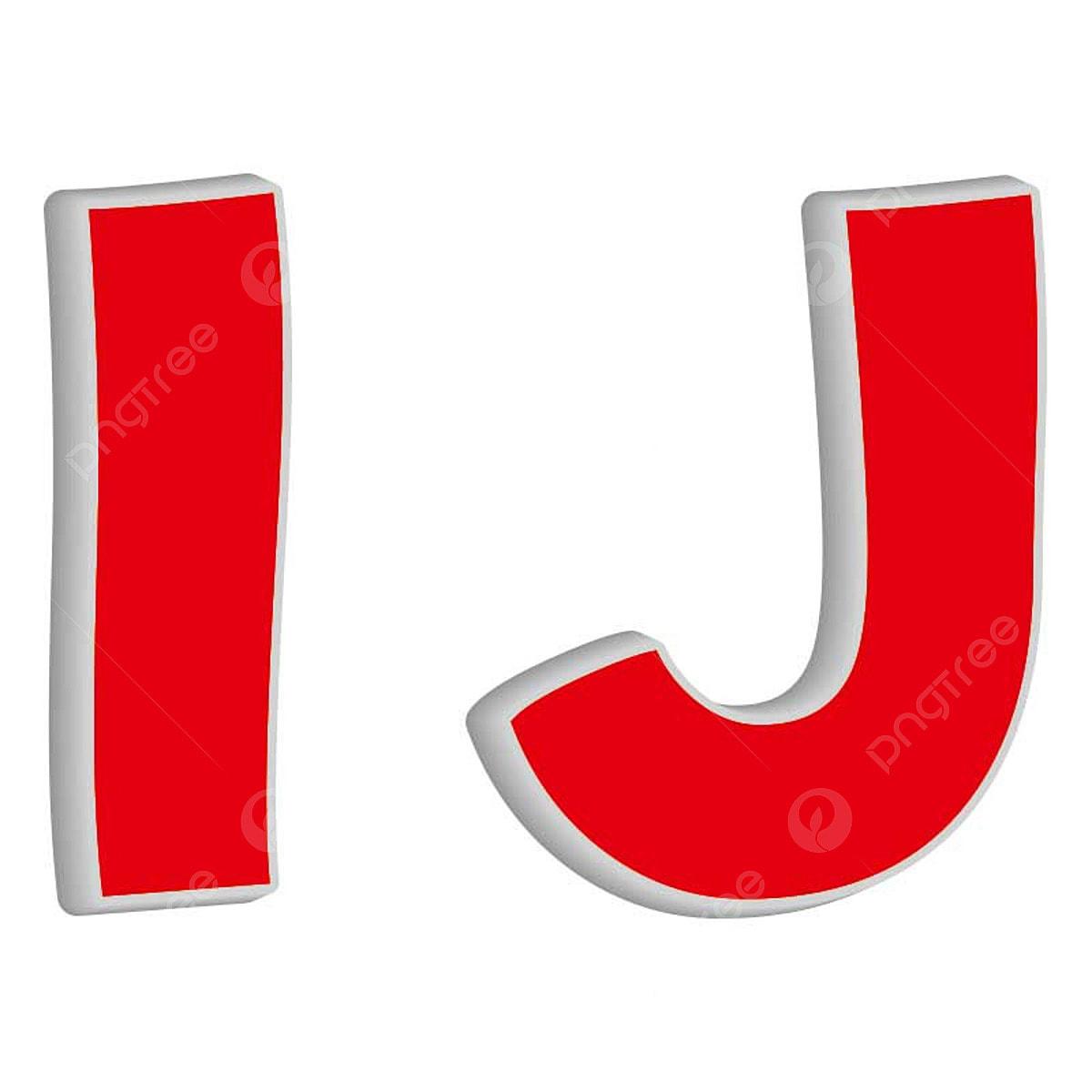 Lettre I Et J, L'utilisation De Caractères En 3d Une ...