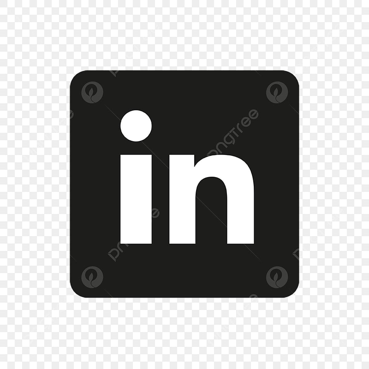 Linkedin Icon Linkedin Icons Black Linkedin Logo Linkedin Logo