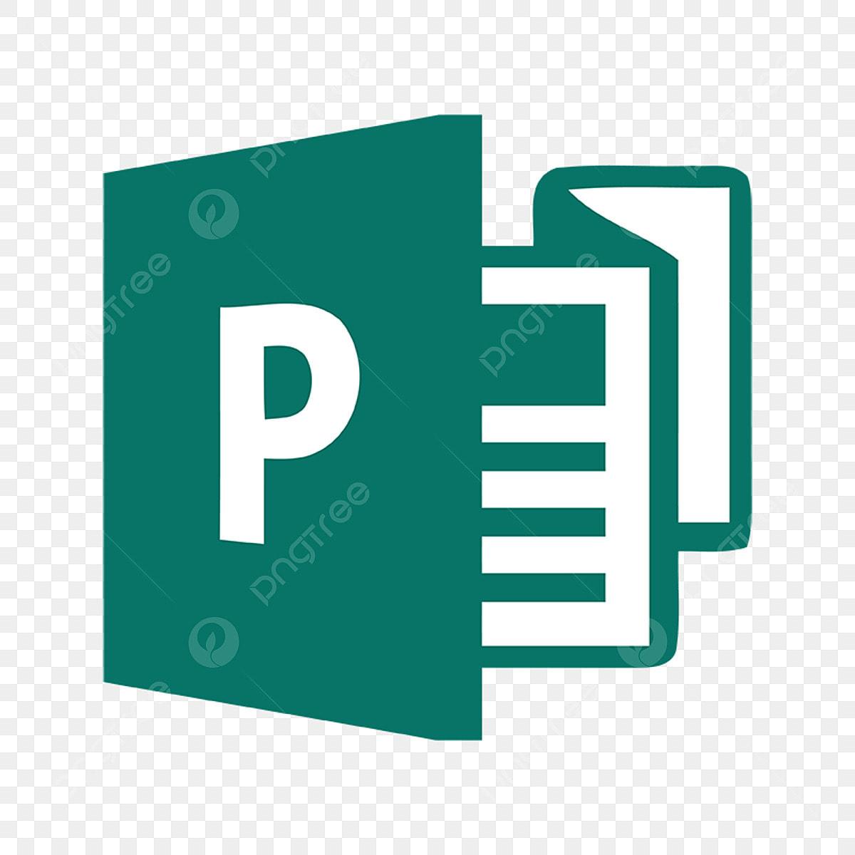 microsoft publisher logo icon  microsoft  azure  word png