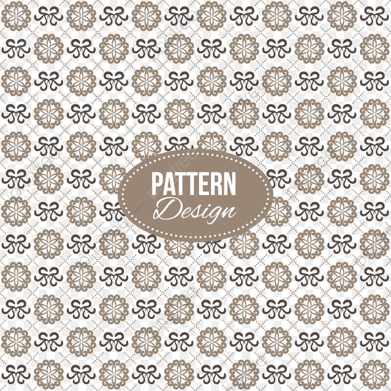 Pattern With Ornaments And Mandala Shapes, Ornaments And
