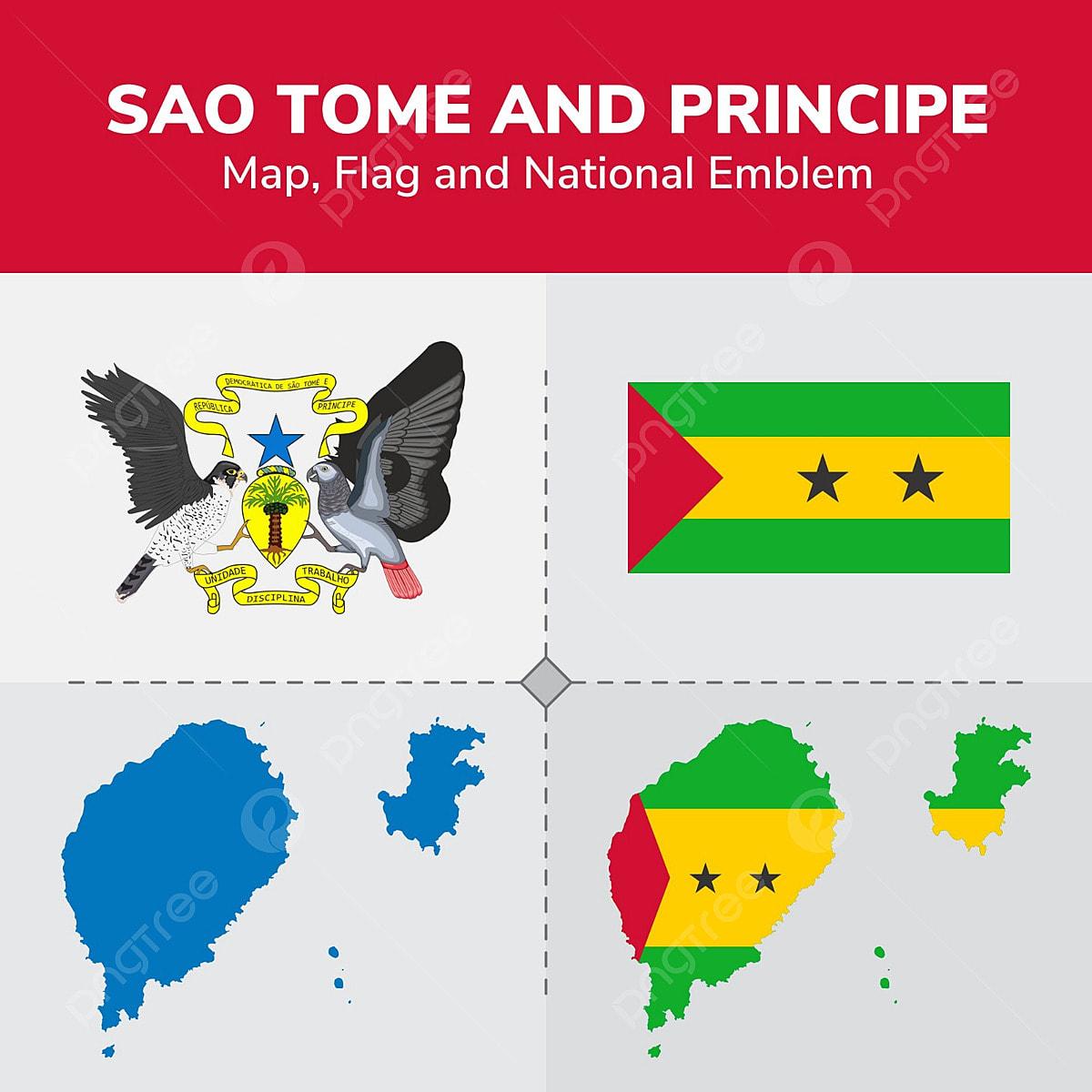 Sao Tome And Principe Map Flag And National Emblem ... Sao Tome E Principe Map on seychelles map, saudi arabia map, comoros map, bangladesh map, central african republic map, new britain island map, lesotho map, united arab emirates map, tanzania map, trinidad & tobago map, honshu island map, principe island map, hong kong map, eritrea map, tokelau map, u.a.e. map, sri lanka map, tunisia map, niue map,