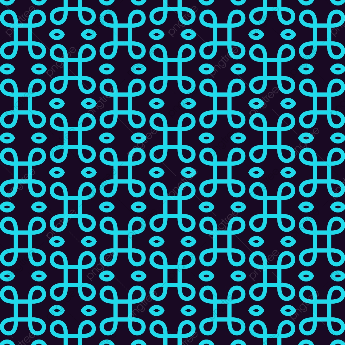 Seamless Geometric Lines Ornament Pattern Linear Pattern